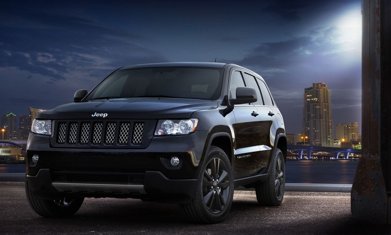 Stealthy Jeep Grand Cherokee concept headed for production ...