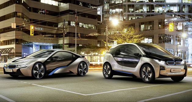 BMW i3 and i8
