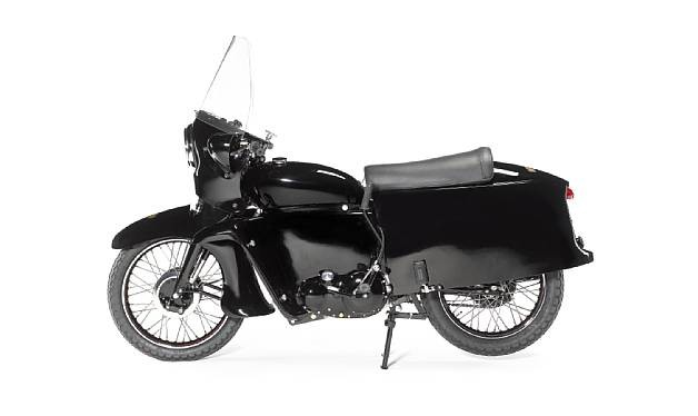 1955 Vincent Black Prince