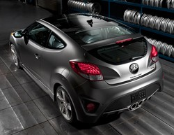 2013 Hyundai Veloster Turbo - rear