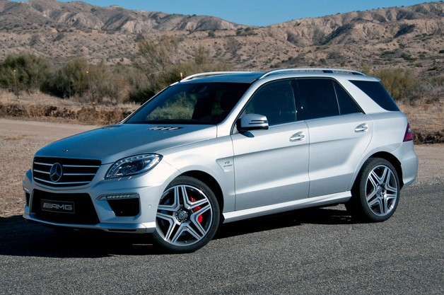 ML63 car - Color: Gray  // Description: big
