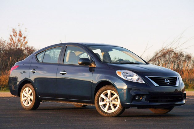 2012 Nissan Versa Sedan Review