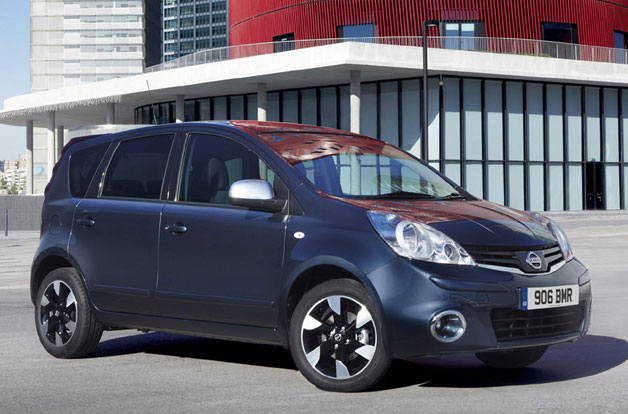 2012 Nissan Note front three-quarter view