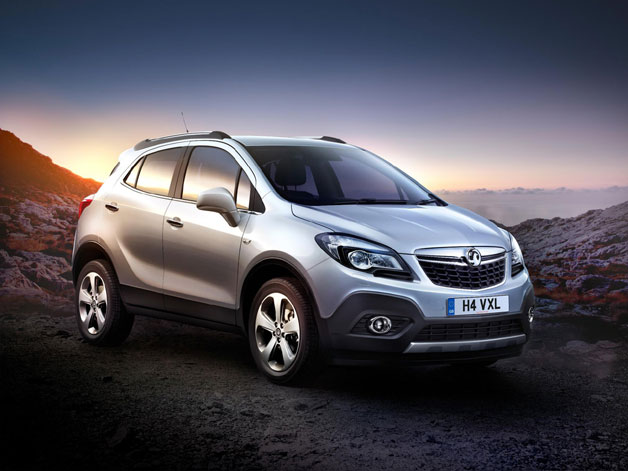Buick Encore appears as Vauxhall/Opel Mokka overseas