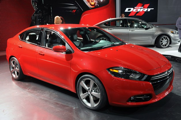 The All-new 2013 Dodge Dart Blends Alfa Romeo DNA with Dodge's Passion