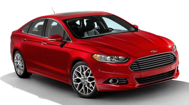 2013 Ford Fusion debuts along with 47-MPG Fusion Hybrid, 100-MPGe