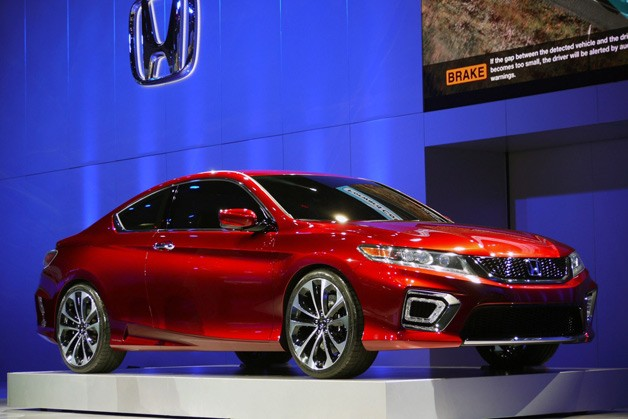 2013 Honda Accord Coupe Concept previews redesign, hybrid returning