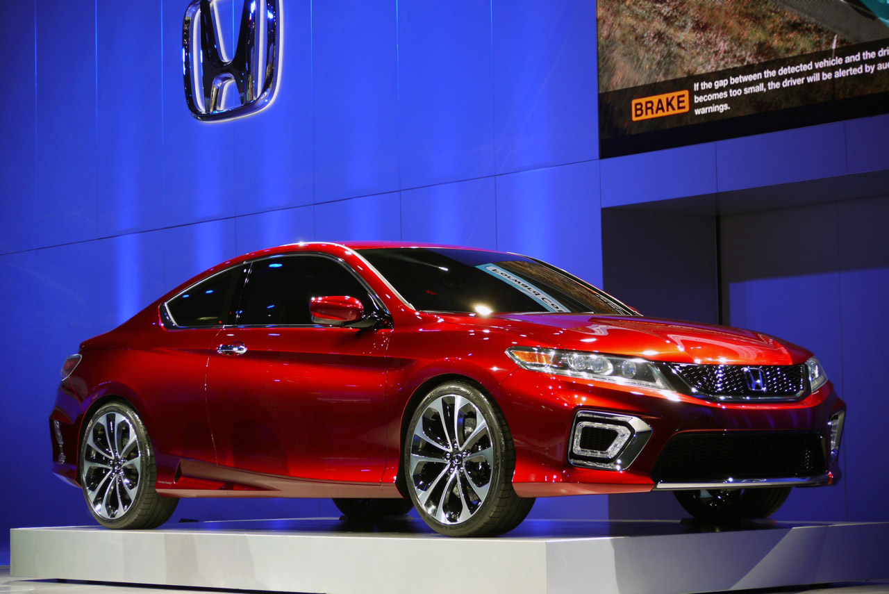 2013 honda accord coupe concept previews redesign hybrid. Black Bedroom Furniture Sets. Home Design Ideas