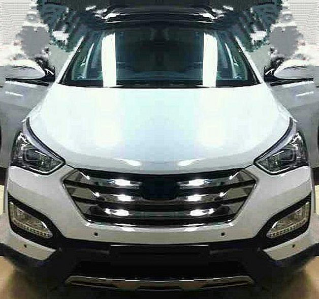Spied:- 2013 Hyundai Santa Fe with zero camouflages (updated with one ...
