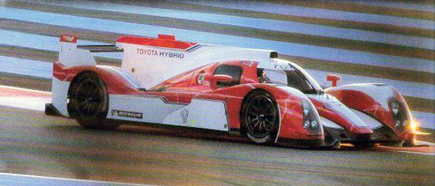 Toyota LMP1 testing at Paul Ricard