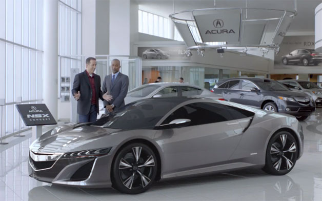 Acura NSX Jerry Seinfeld Super Bowl Commercial Has Leaked