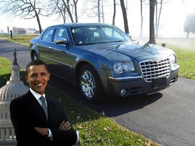 Barack Obama's Chrysler 300C
