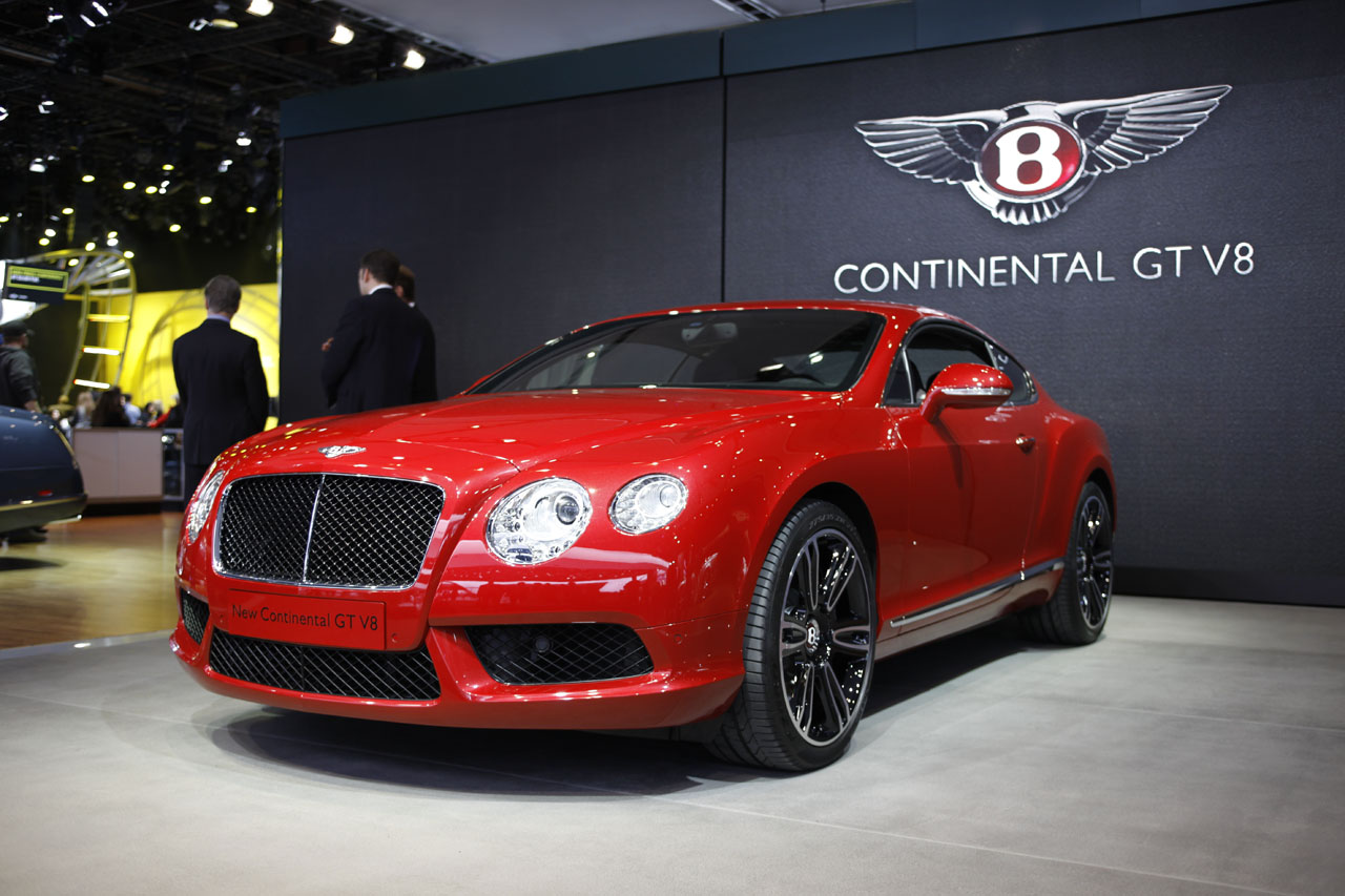 Pre Owned Cars >> Bentley Continental GT V8 brings the motor to Motor City - Autoblog