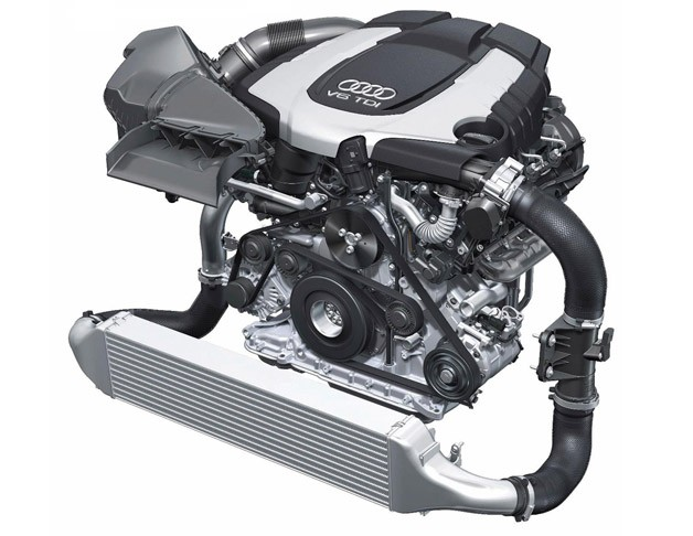 Audi BiTDI V6 engine