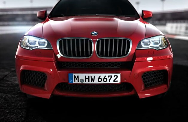 Updated BMW X6 M previewed in videos