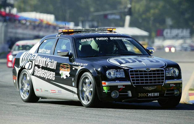First-gen Chrysler 300C pace car