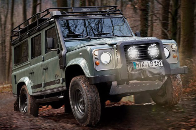 Blaser Land Rover Defender