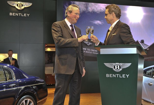 Bentley chief executives