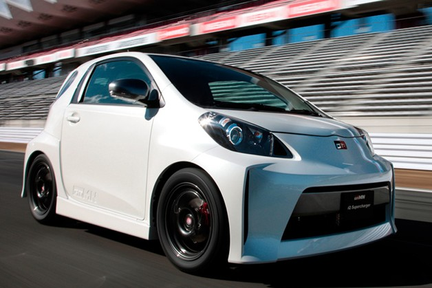 Gazoo Racing Toyota iQ Supercharger prototype 