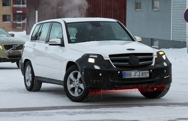 2013 Mercedes-Benz GLK spyshot
