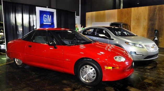 GM EV1 and Chevy Volt