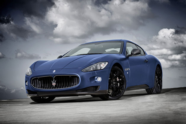 Maserati GranTurismo S Limited Edition front three-quarter view