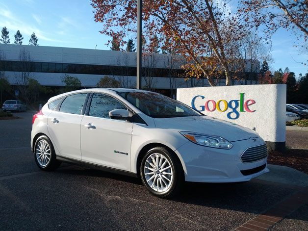 Ford Focus Electric at Google
