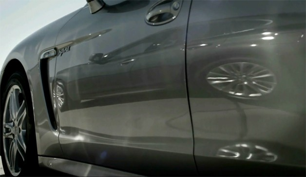 Infiniti hybrid drag race teaser screen capture