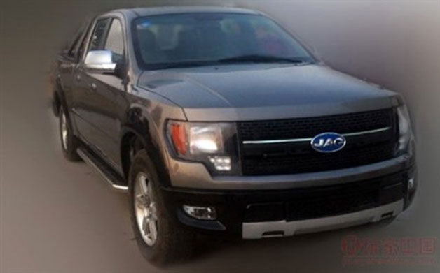 China's F-150 aping JAC 4R3 pickup