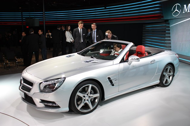2013 Mercedes-Benz SL550 - Detroit Auto Show reveal