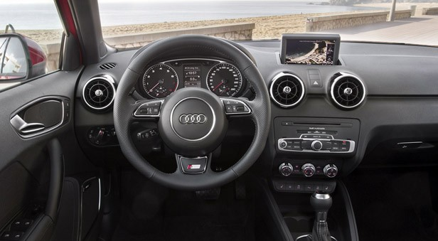 2012 Audi A1 Sportback interior