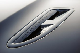 2012 Jaguar XF Supercharged hood vent