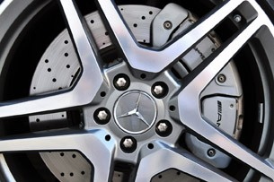 2012 Mercedes-Benz S63 AMG wheel detail