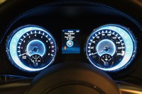 2012 Chrysler 300 SRT8 gauges
