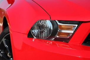 2012 Ford Mustang V6 headlight