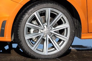2012 Audi A1 Sportback wheel