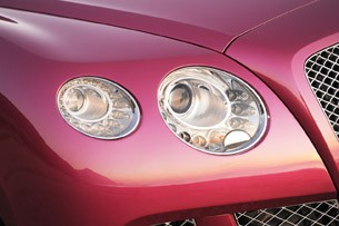 2012 Bentley Continental GTC headlights