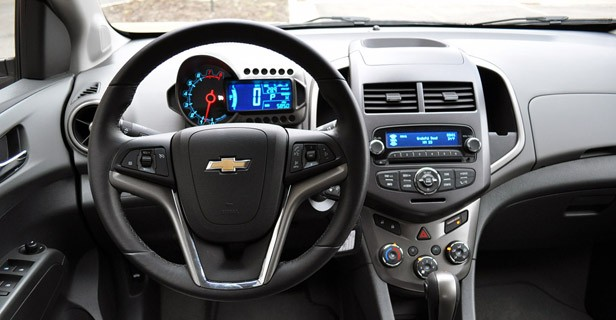 2012 Chevrolet Sonic LTZ interior
