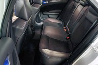 2012 Chrysler 300 SRT8 rear seats