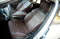 2012 Mercedes-Benz ML63 AMG front seats