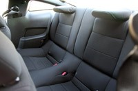 2012 Ford Mustang V6 rear seats