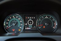 2012 Jaguar XF Supercharged gauges