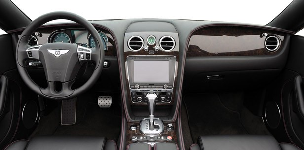 2012 Bentley Continental GTC interior