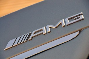 2012 Mercedes-Benz S63 AMG badge