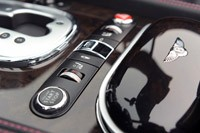 2012 Bentley Continental GTC center console controls