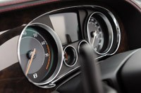 2012 Bentley Continental GTC gauges