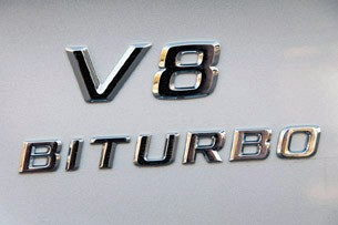2012 Mercedes-Benz ML63 AMG badge