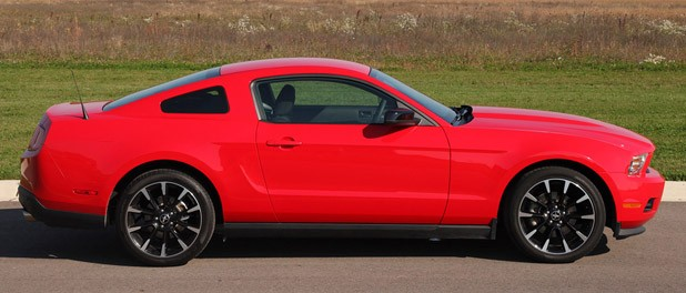 2012 Ford Mustang V6 side view