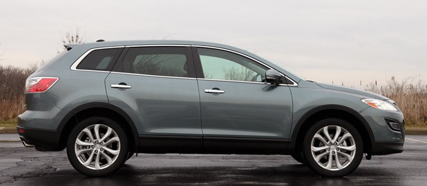 2012 Mazda CX-9 side view