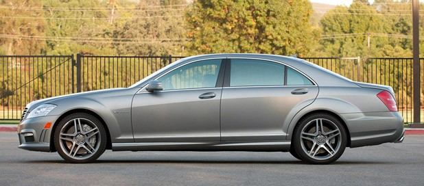 2012 Mercedes-Benz S63 AMG side view